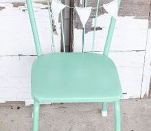 giving a child s chair new life with paint, painted furniture