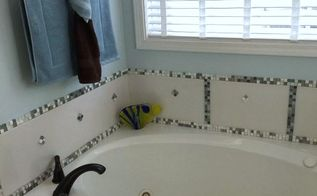 diy bathtub makeover, bathroom ideas, how to, tiling, I am woman hear me roar