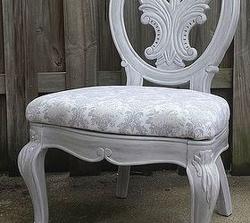 A Cast Off Craigslist Chair Makeover, Chalk Paint, Painted Furniture,  Reupholster