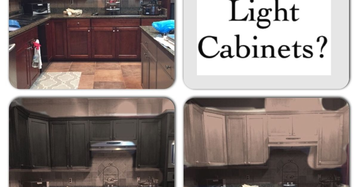 Dark Vs Light Cabinets Hometalk