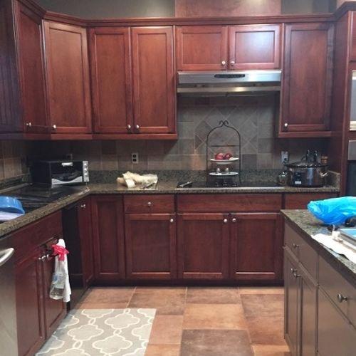 White Kitchen Vs Dark Kitchen dark vs. light cabinets   hometalk