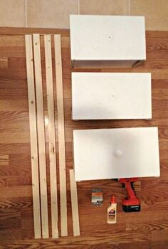 diy ladder shelf from old repurposed drawers, diy, organizing, repurposing upcycling, shelving ideas