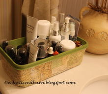 don t toss your empty swiffer containers, crafts, decoupage, repurposing upcycling