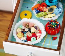 repurposed vintage ashtrays to storage, craft rooms, crafts, organizing, repurposing upcycling, storage ideas
