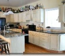kitchen makeover using chalk paint by annie sloan, chalk paint, countertops, kitchen cabinets, kitchen design, painting