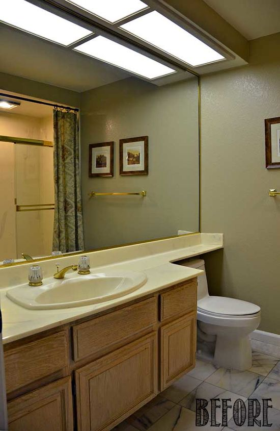 Guest Bathroom Makeover Before Amp After Hometalk