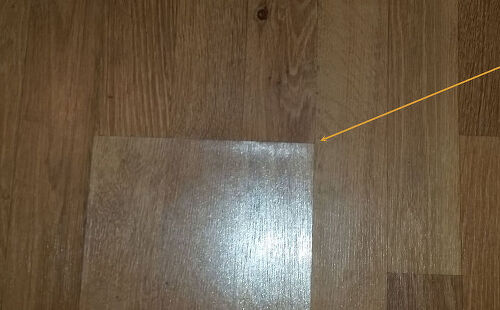 Laminate Floor Repair gap repair laminate floor After I Put The Glue In To Put Between The Heavy Weights And The Hole I Put The Glue In I Dont Want The Gorilla Glue To Stick To The Weights Thanks