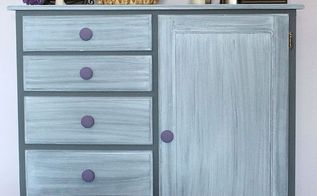 chalk paint dresser makeover, chalk paint, painted furniture