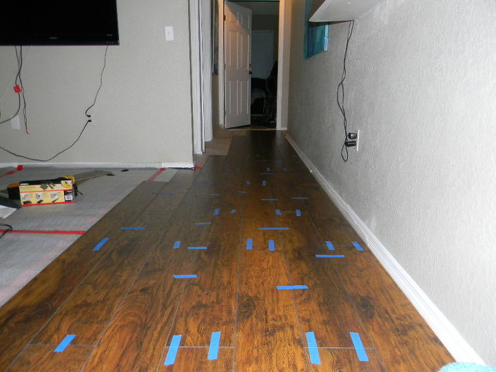 Diy Laminate Flooring Installation Diy Flooring Hardwood Floors How To