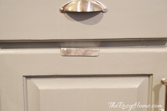 hidden paper towel holder kitchen design organizing storage ideas - Kitchen Towel Holder Ideas