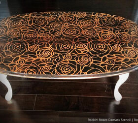 4 Out-Of-The-Box Stenciled Table Top Ideas | Hometalk