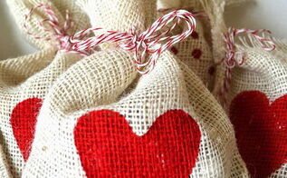 diy valentine treat bags, crafts, how to, seasonal holiday decor, valentines day ideas