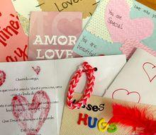 valentine cards that speak love, crafts, seasonal holiday decor, valentines day ideas