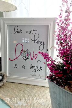 love is a verb valentine s printables, crafts, seasonal holiday decor, valentines day ideas