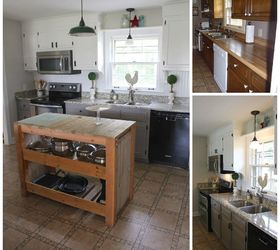 Amazing Diy Kitchen Makeover Diy Farmhouse Kitchen Makeover For $5000 Including  Appliances