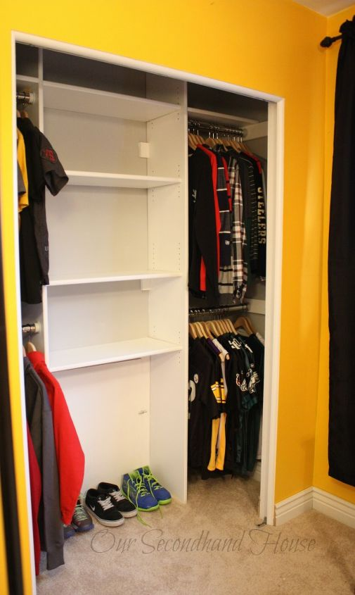 Diy Custom Closet To Maximize Space Hometalk