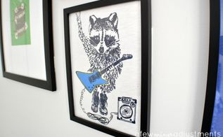 shirt gallery wall for kid s room, bedroom ideas, how to, repurposing upcycling, wall decor