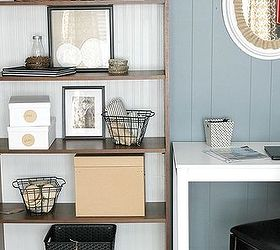 Farmhouse Chic Office Makeover, Chalk Paint, Chalkboard Paint, Crafts, Home  Office,