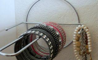 easy bracelet organizer, crafts, organizing, repurposing upcycling