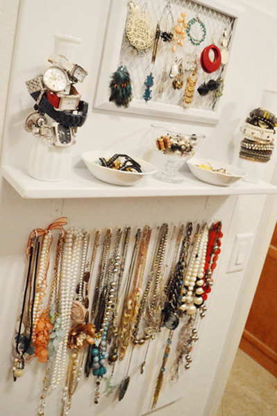 DIY Jewelry Storage Board | Hometalk