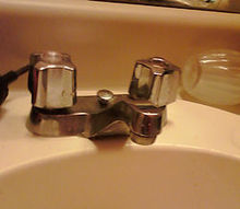 q changing old washers in bathroom sink, bathroom ideas, home maintenance repairs, plumbing