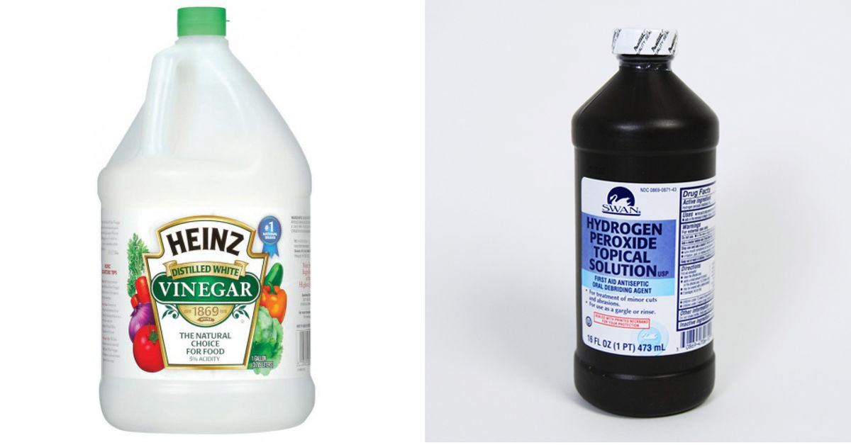 How to clean with vinegar and hydrogen peroxide hometalk What kind of vinegar is used for cleaning