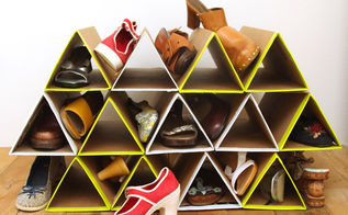 diy super space saving shoe rack, closet, diy, how to, organizing, repurposing upcycling, storage ideas