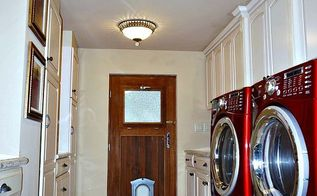 stylish laundry room makeover, home improvement, laundry rooms, storage ideas, tiling