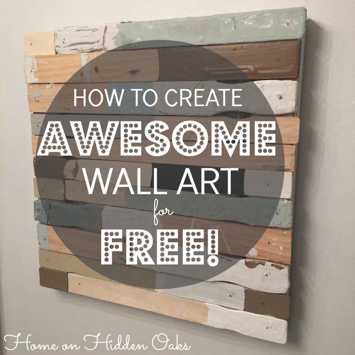 free wall art from reclaimed wood, crafts, wall decor, woodworking projects - Free Wall Art From Reclaimed Wood Hometalk