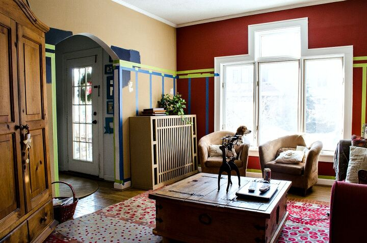 Board Amp Batten Navy And White Living Room Hometalk