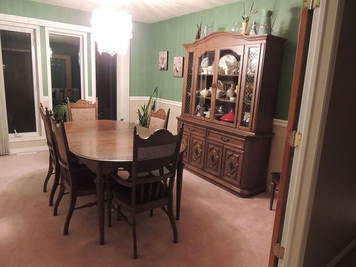 1950 S Dining Set Makeover Chalk Paint Room Ideas Painted Furniture