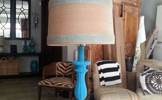 diy lamp upcycling, chalk paint, crafts, how to, lighting, painting