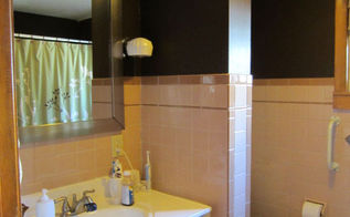 painted bathroom tile one year later, bathroom ideas, how to, painting, tiling
