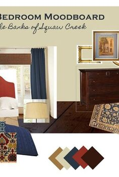 master bedroom from mood board to makeover, bedroom ideas