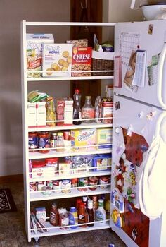 diy pull out pantry tutorial, closet, diy, how to, organizing, storage ideas
