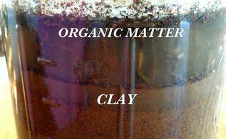 simple jar test to know your soil, gardening, homesteading, how to