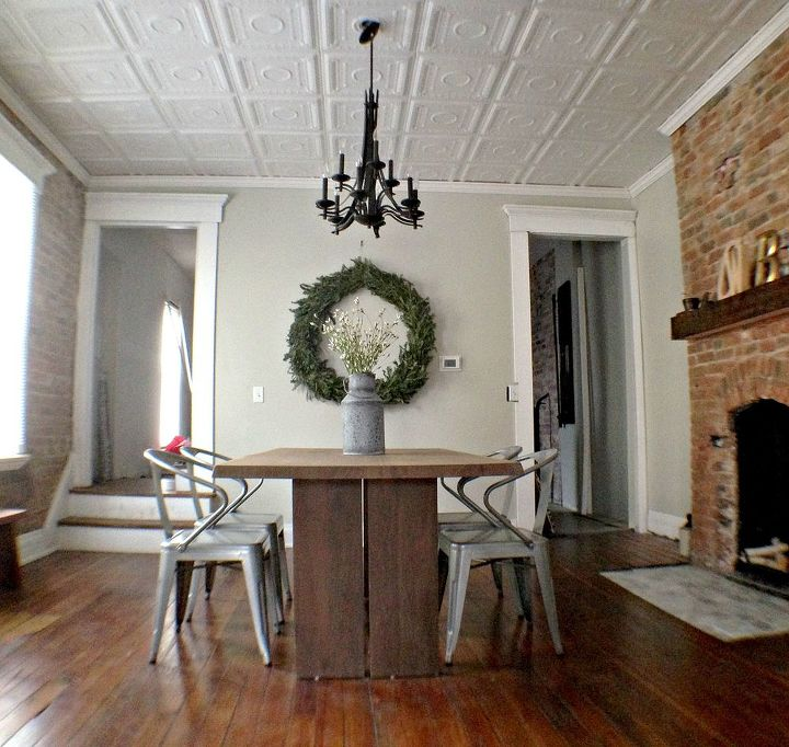 1920 duplex remodel bathroom ideas dining room ideas fireplaces mantels home decor - Dining Room Remodel