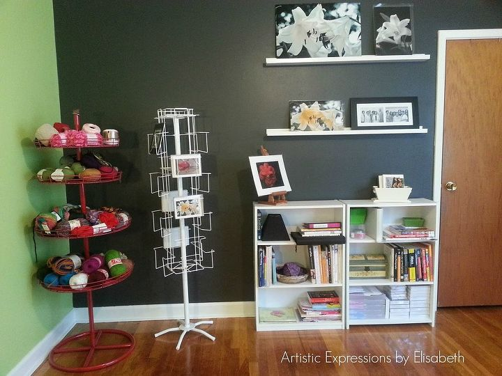 craft room makeover from living room to craft room