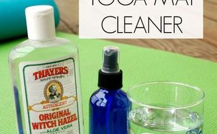 diy natural yoga mat cleaner, cleaning tips, homesteading, how to