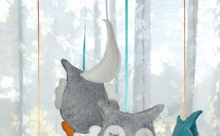 diy felt owl mobile, bedroom ideas, crafts, how to