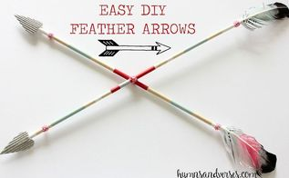 easy diy valentine feather arrows, crafts, how to, seasonal holiday decor, valentines day ideas