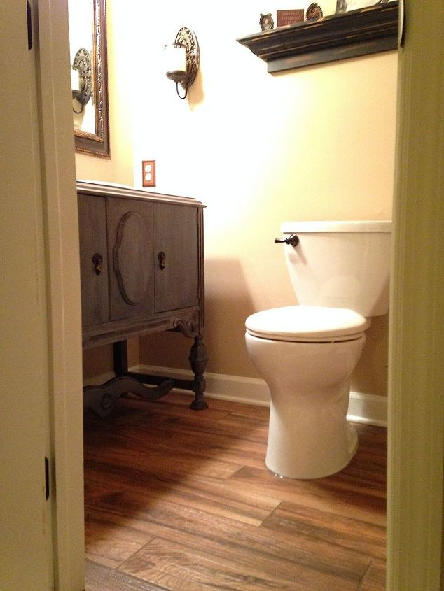 Powder Room Remodel Hometalk