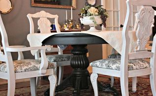 form 80 s blah to vintage wow, home decor, painting, repurposing upcycling, reupholster