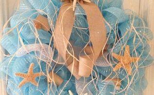 coastal wreath, crafts, wreaths