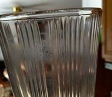 q old cloudy drinking glasses, cleaning tips