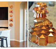easy bundt pan decor, kitchen design, repurposing upcycling, wall decor