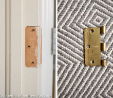 how to fill hinge holes, closet, doors, home maintenance repairs, how to