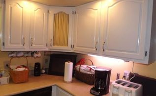 q kitchen cupboard makeover, chalk paint, kitchen cabinets, kitchen design, painting, after looks good here but is chipping collects dirt really bad