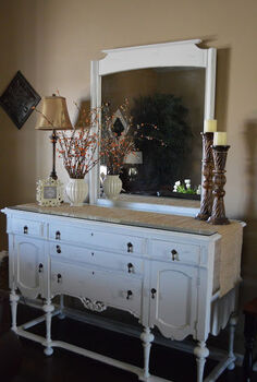 chalk painted buffet, chalk paint, painted furniture