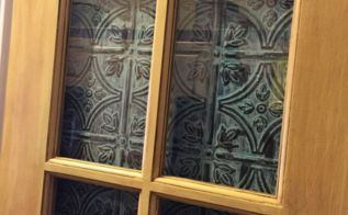 how to update a pantry door, closet, crafts, doors, how to, repurposing upcycling, tiling, Close up after wax
